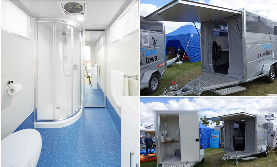 Incredible Portable Shower And Toilet Hire Mobile Disabled Bathroom Interior Design Ideas Tzicisoteloinfo